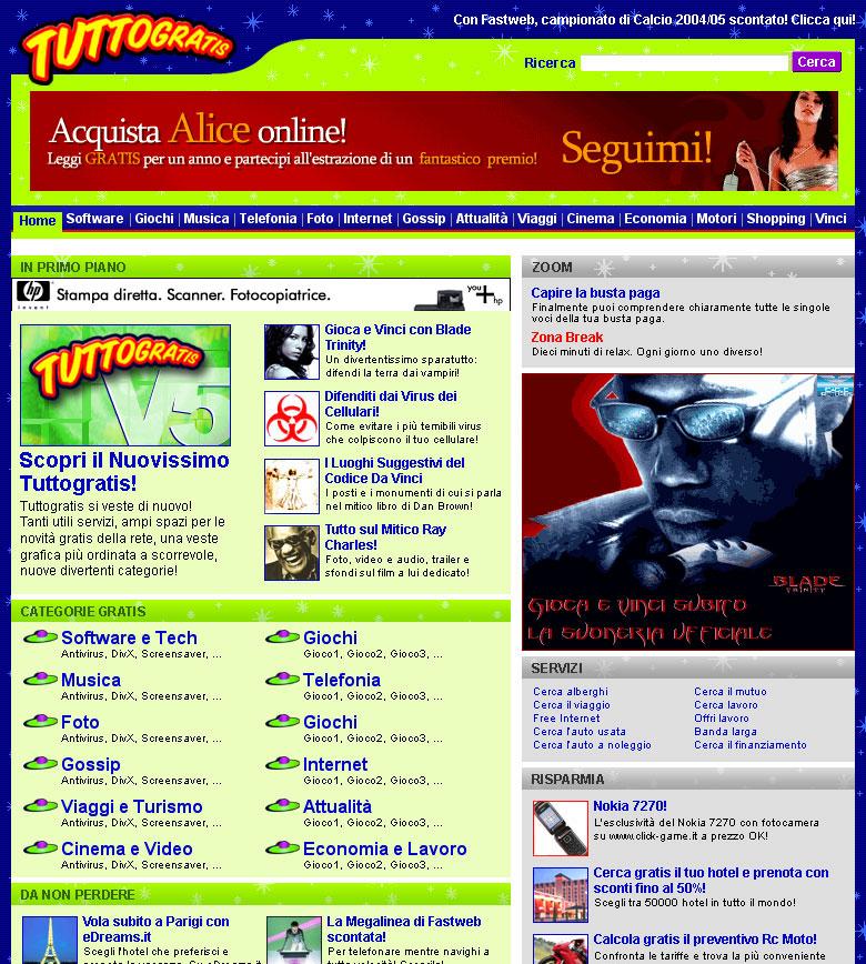E' online da oggi il nuovo portale, rinnovato   nella grafica, usabilità e contenuti