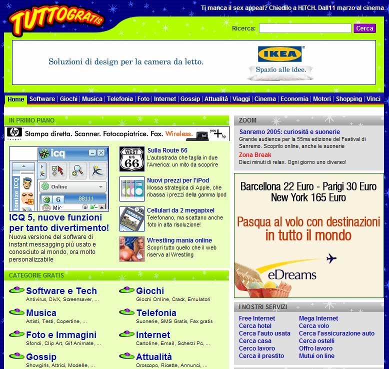 Il rinnovamento operato sulla grafica, usabilità   e contenuti ha portato l'aumento di page view, permanenza sul sito e utenti unici