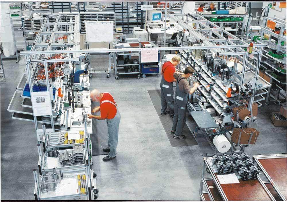 Bosch Rexroth presenta i suoi nuovi prodotti alla fiera BIMEC 2005