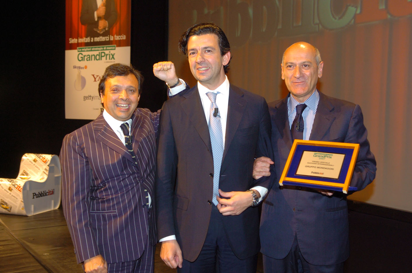"""La platea del Grand Prix 2007 ha scelto lo spot """"Moretti Zero"""""""