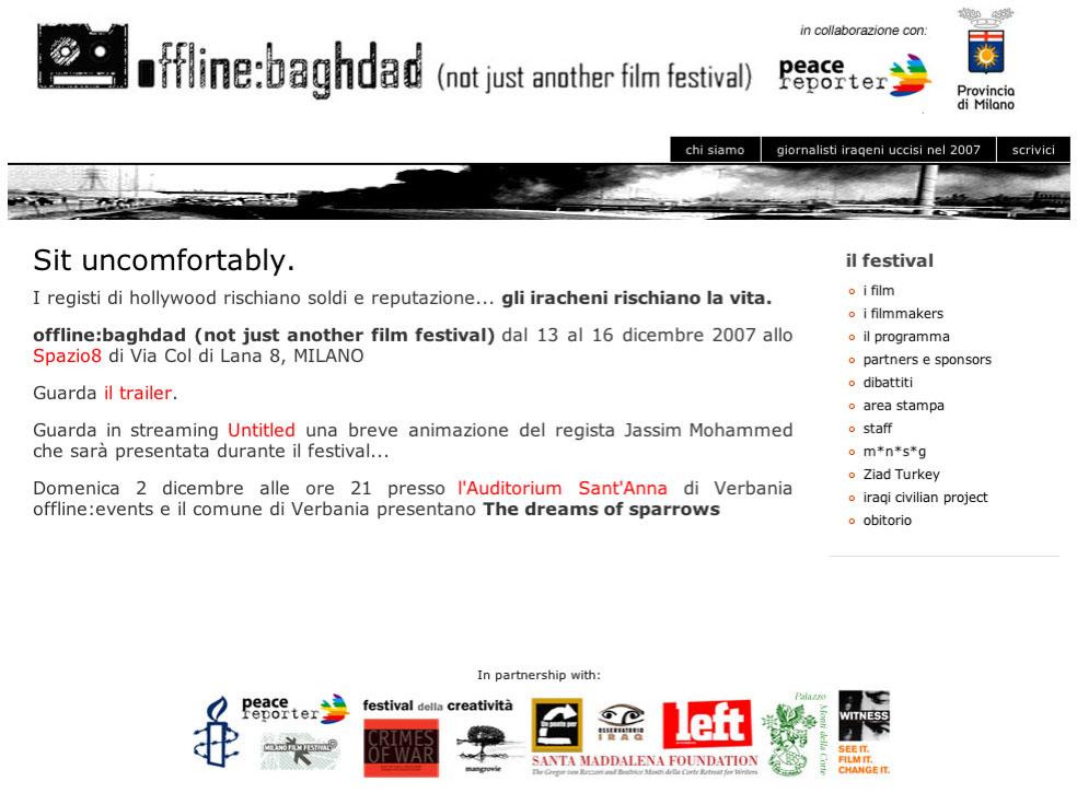 Il festival del cinema iracheno è online