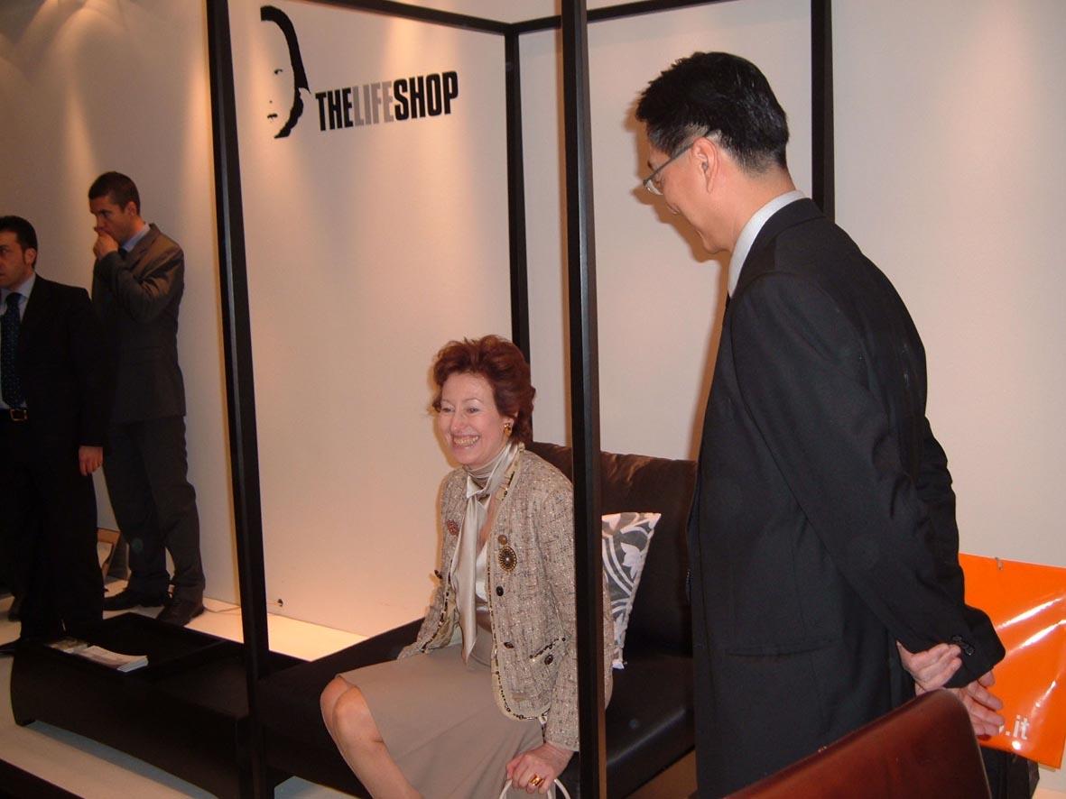 La Moratti ha incontrato Singapore al Salone del Mobile