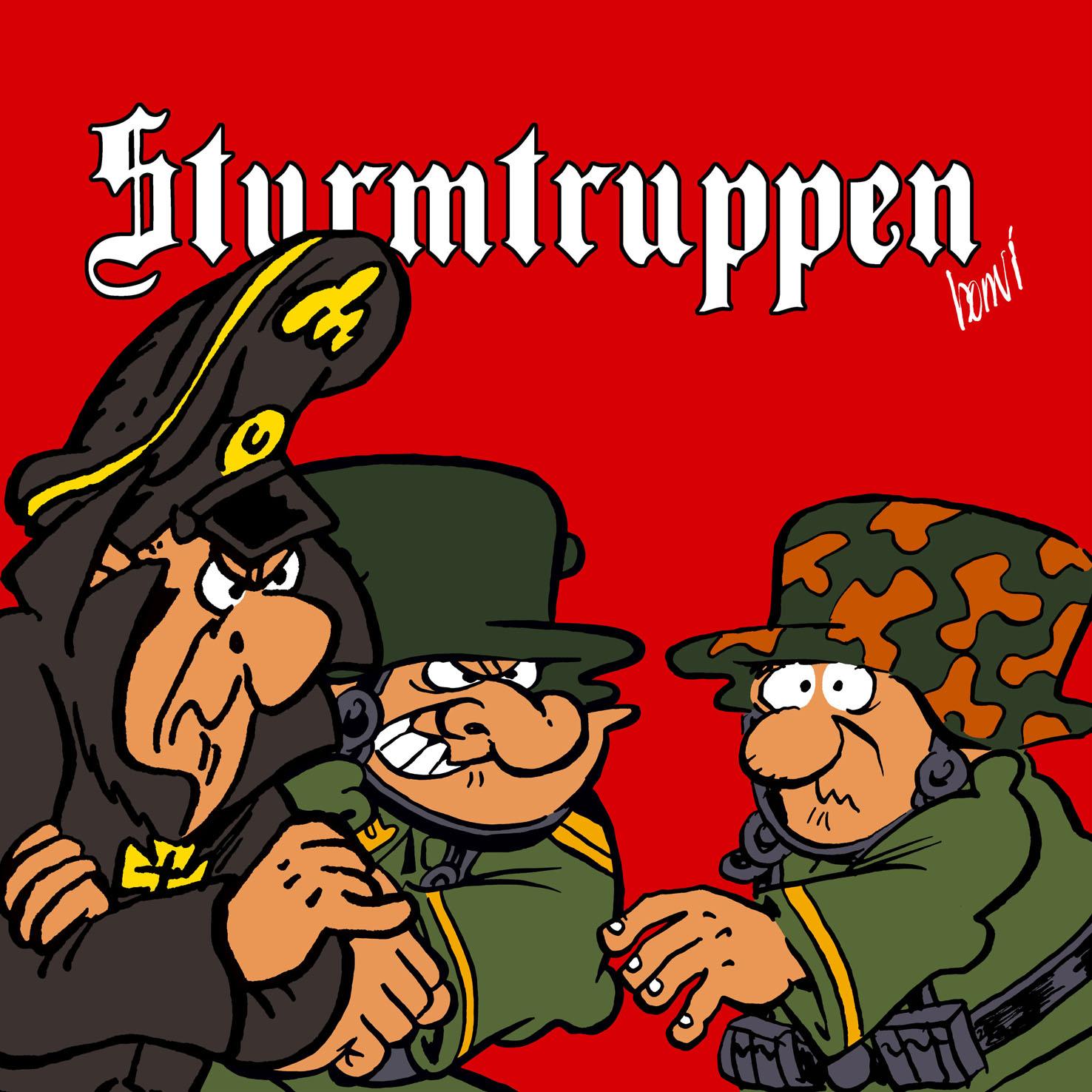Eroico assalto delle Strumtruppen al Festival di Annecy
