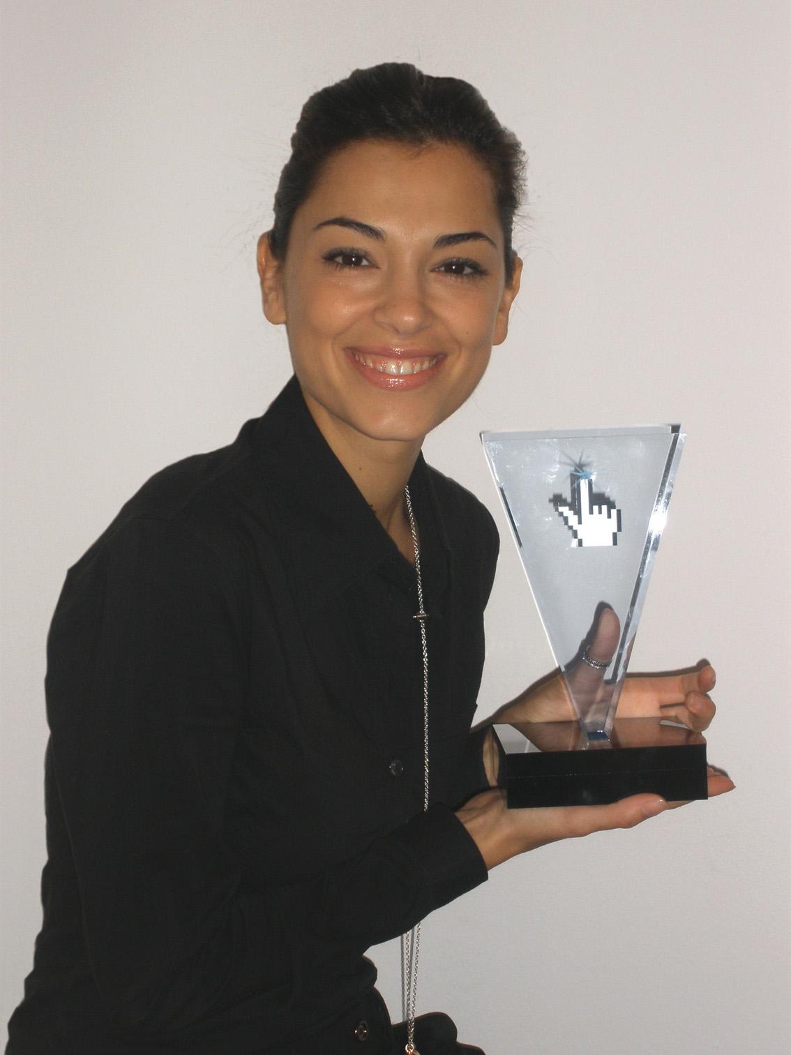 Giorgia Surina presenta l'Interactive Key Award