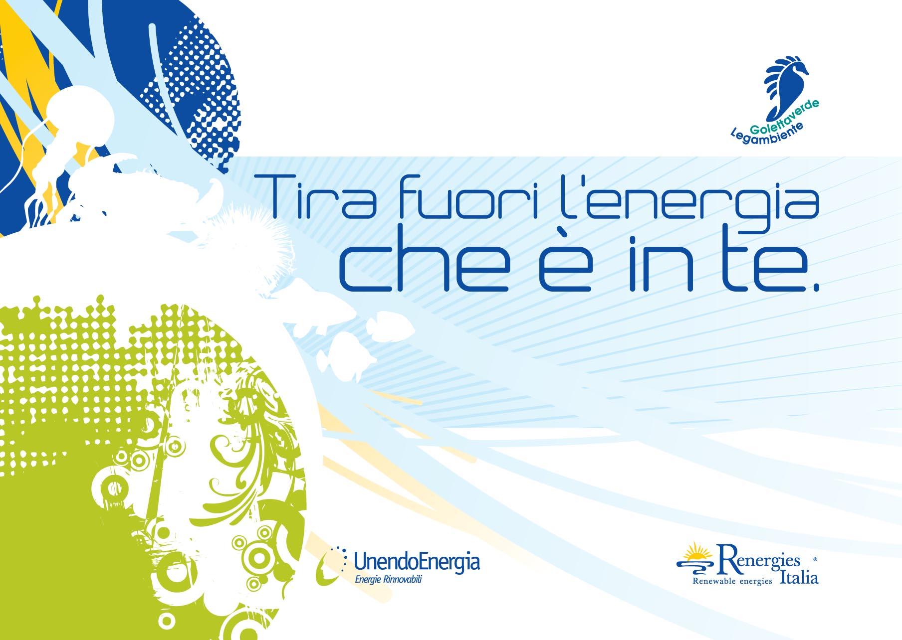 """""""Tira fuori l'energia che è in te"""" con Renergies Italia e Unendo Energia"""