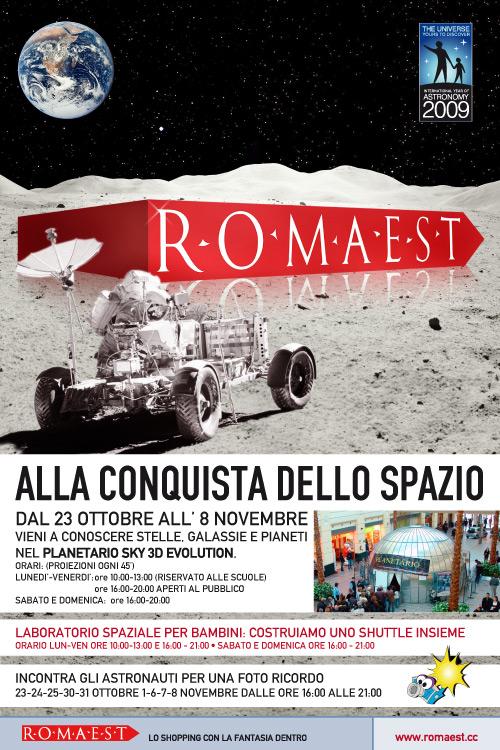 """Romaest """"alla conquista dello spazio"""""""