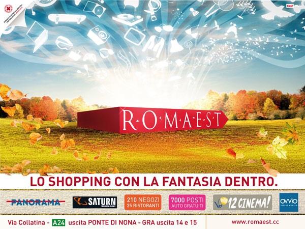 """A Romaest lo shopping ha sempre """"la fantasia dentro"""""""