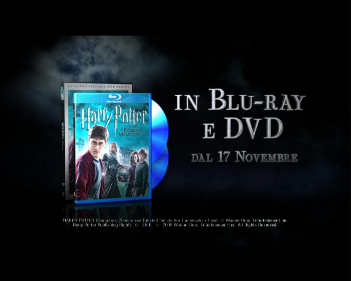 Preludio dà tono allo spot Warner per il Blu-ray e il dvd di Harry Potter