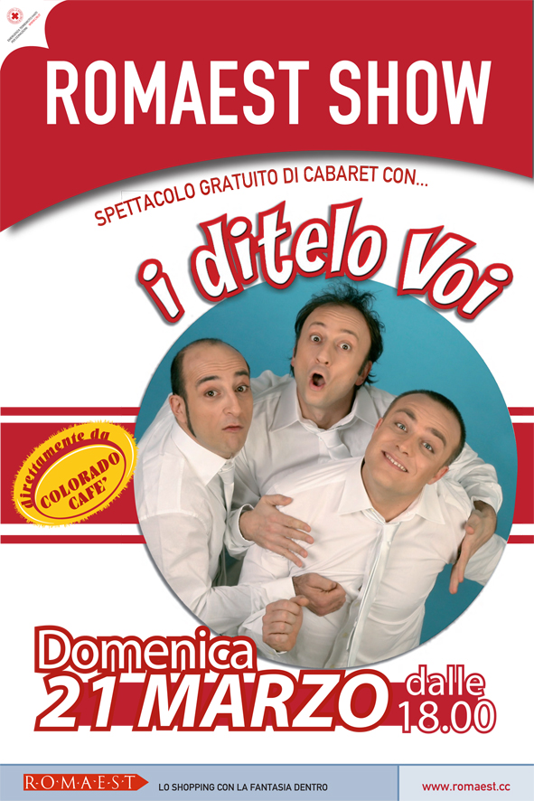 A Romaest è cabaret, con I Ditelo Voi