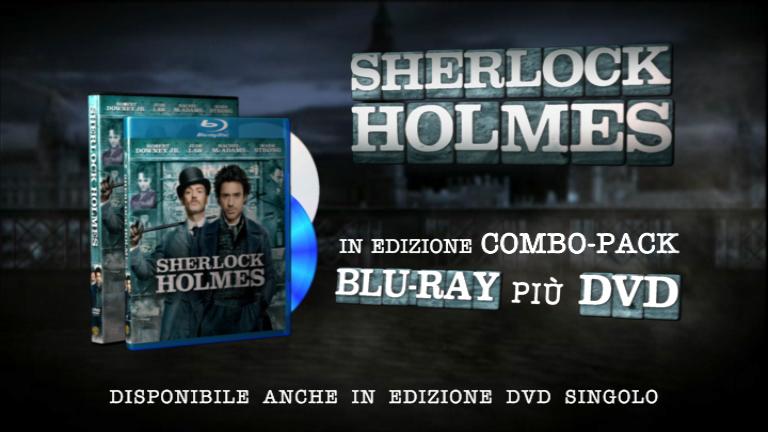 Preludio dialoga con Downey Jr e Law per il Combo-pack Blu-ray più DVD di Sherlock Holmes