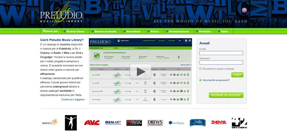 Preludio aumenta l'offerta del suo nuovo catalogo online con un accordo in esclusiva con Adonys 5.1