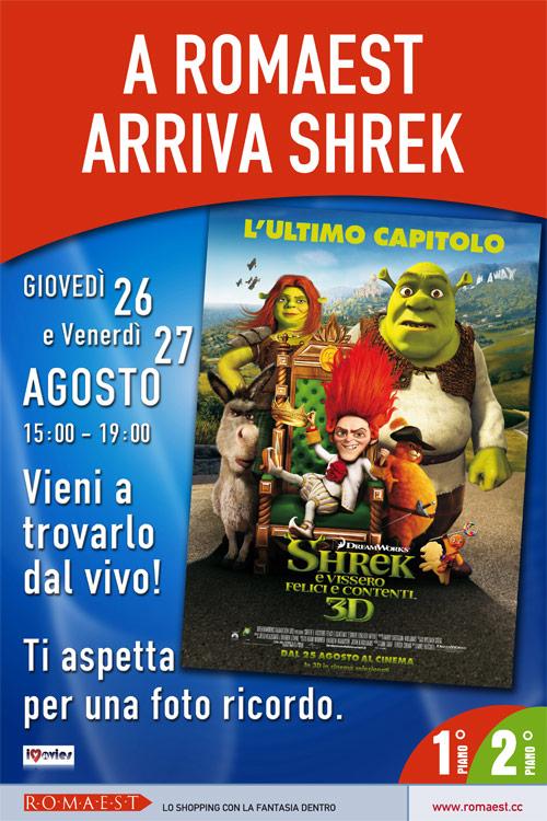 A Romaest arriva Shrek