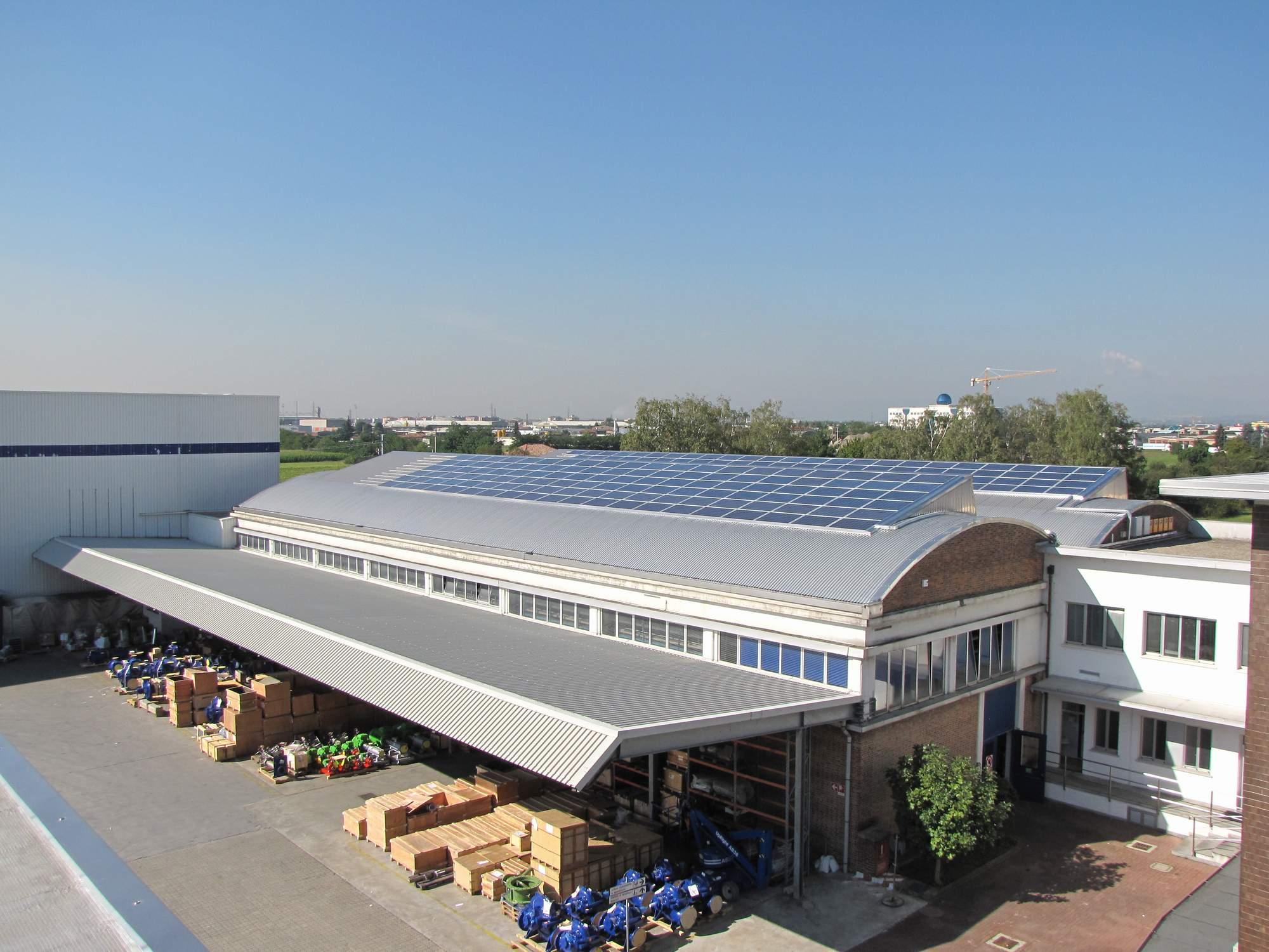 Un nuovo impianto fotovoltaico in Brianza