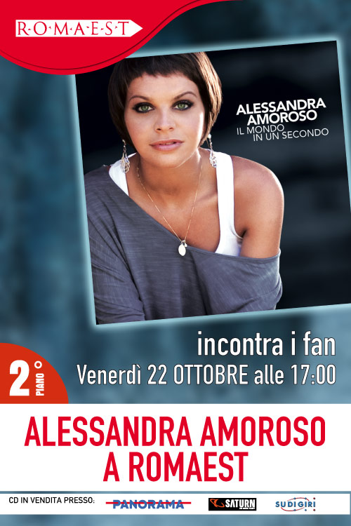 A Romaest arriva Alessandra Amoroso