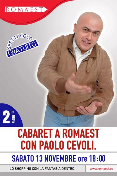 Il cabaret di Paolo Cevoli a Romaest