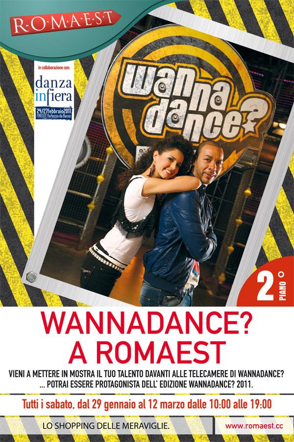 "Sbarca a Romaest la tramissione tv ""Wannadance"""