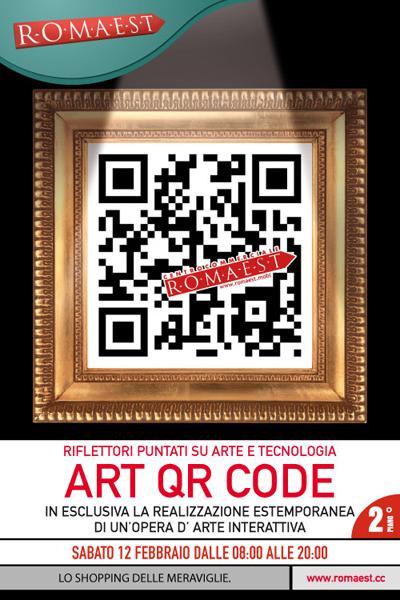 A Romaest arriva l'Art Qr Code