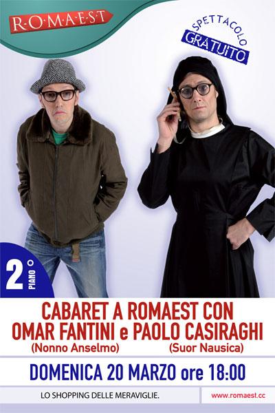 A Romaest ritorna il cabaret