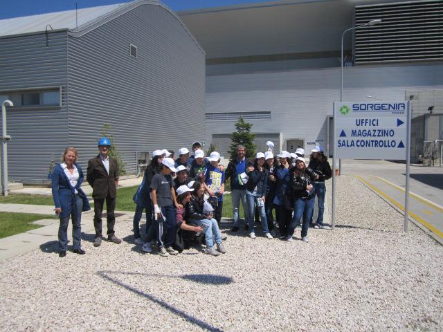 Sorgenia apre le porte della centrale di Termoli agli studenti di Bonefro e Colletorto