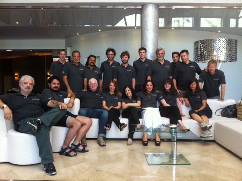 Il network internazionale di Casta Diva Pictures in trasferta a Cannes per il primo meeting globale del gruppo.