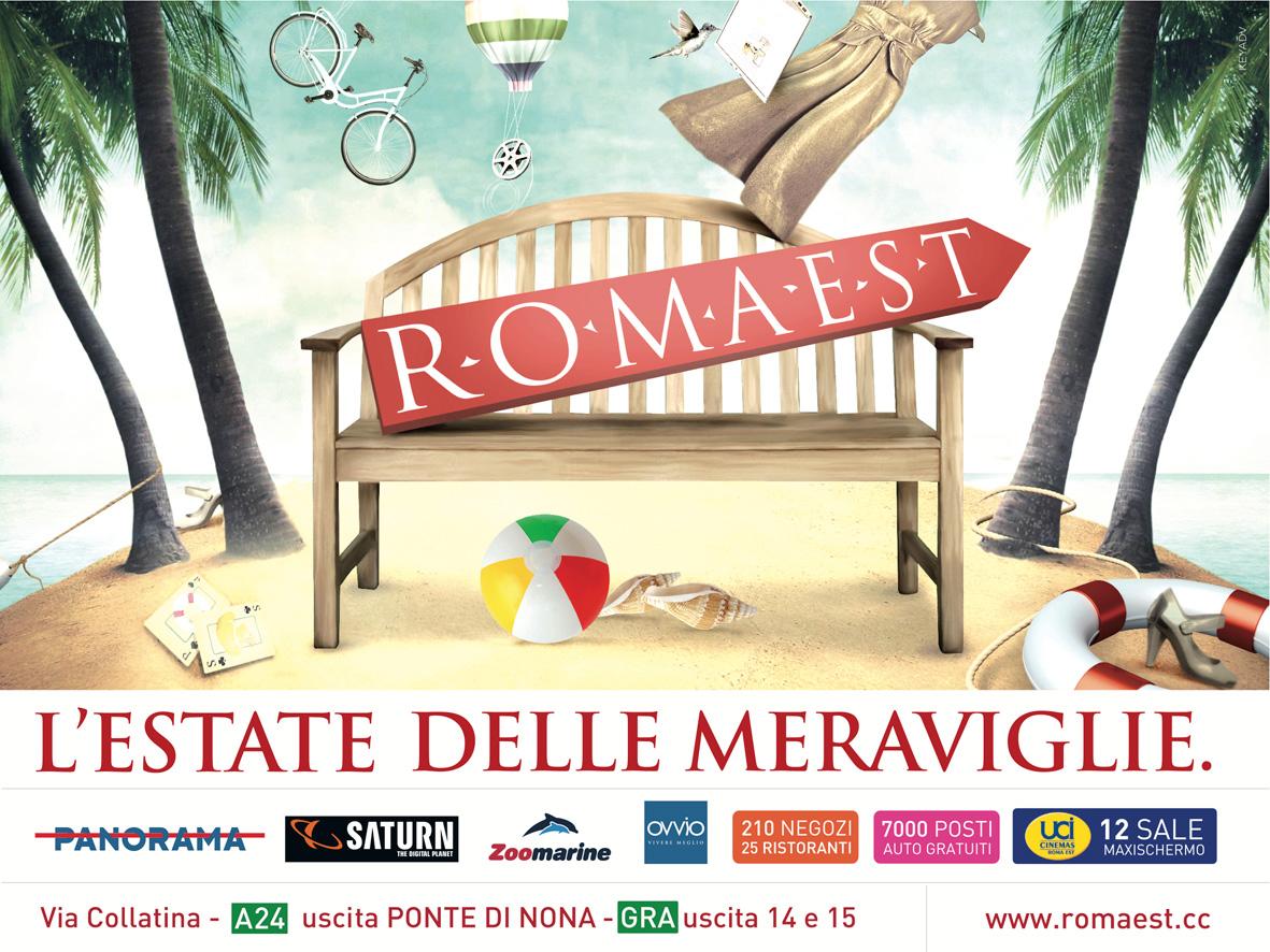 """L'estate romana """"non fa paura"""" a Romaest"""
