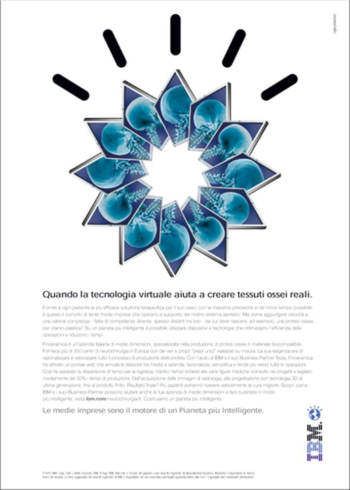 """La """"smarter healthcare"""" di Finceramica protagonista della nuova campagna IBM firmata da Ogilvy"""