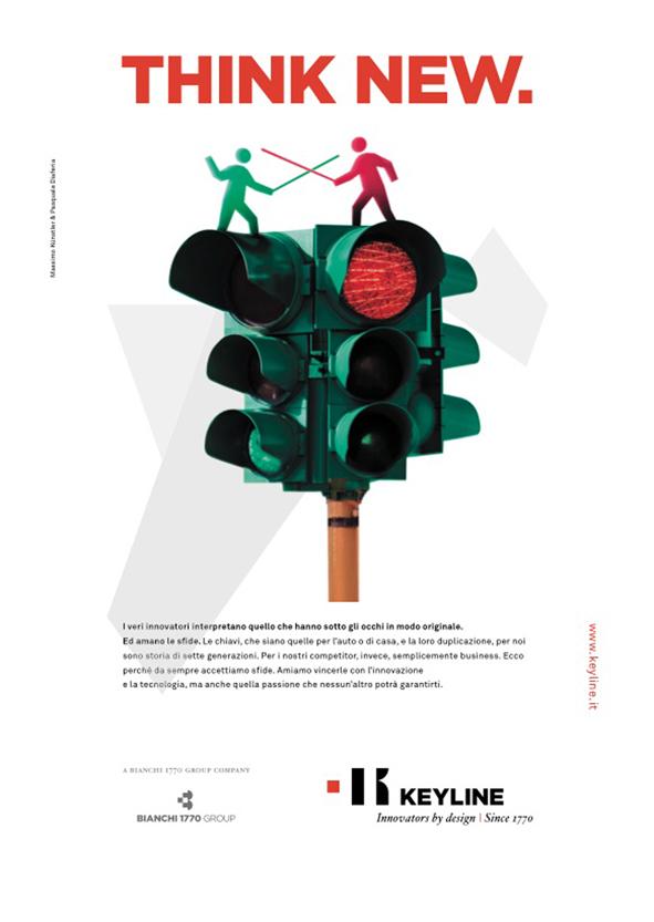 """THINK NEW"": una campagna stampa globale accompagna il rebranding di Keyline"