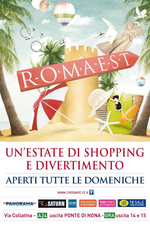 A Romaest un agosto di shopping e divertimento