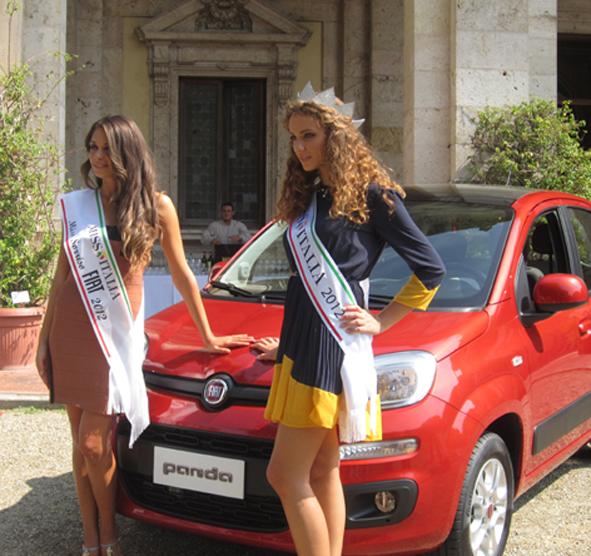 Egg Events con la nuova Fiat Panda a Miss Italia