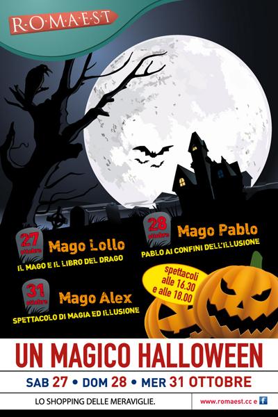 Un magico Halloween a Romaest
