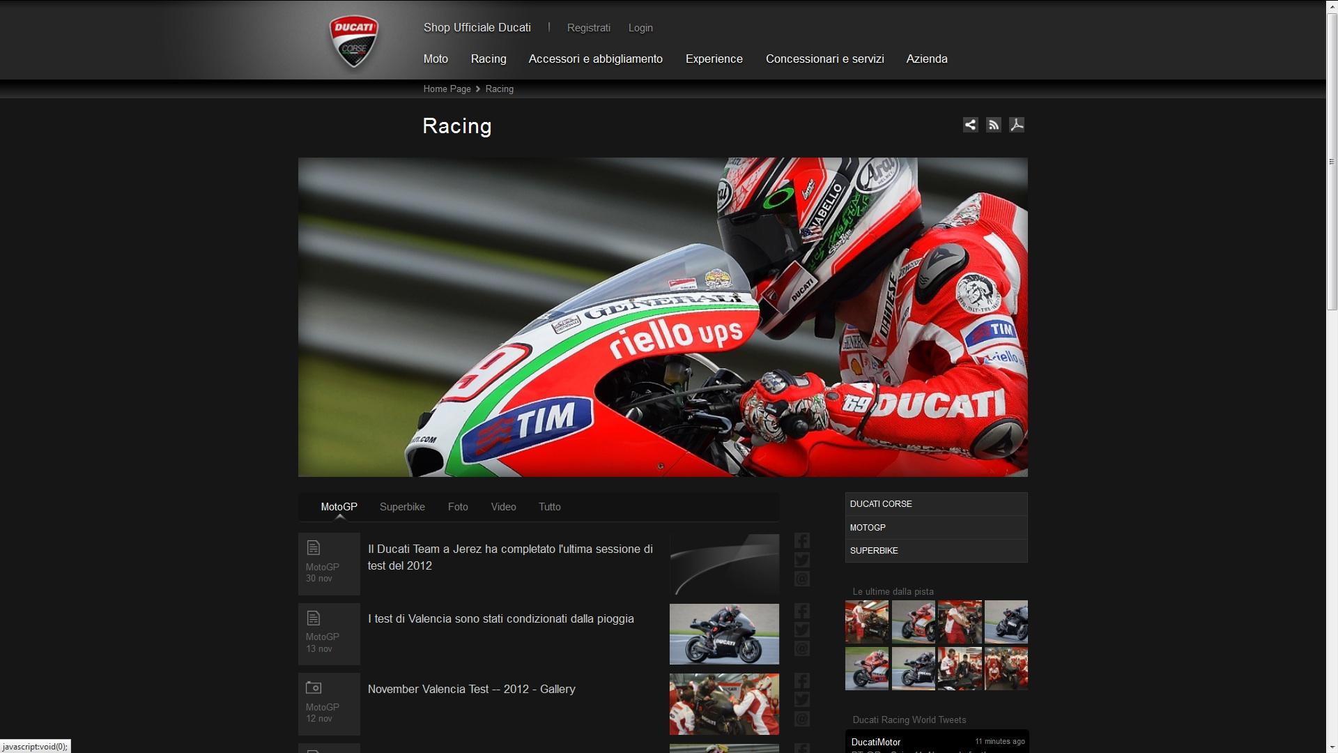 Ducati continua a correre nel Digital con Gecod