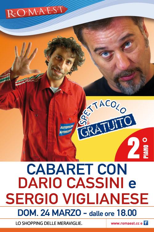 A Romaest torna il cabaret