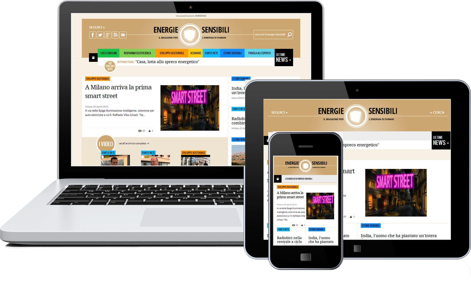 Energie Sensibili si rinnova: diventa quotidiano e anche mobile
