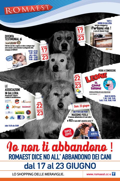 Romaest dice no all'abbandono dei cani con una settimana dedicata al miglior amico dell'uomo