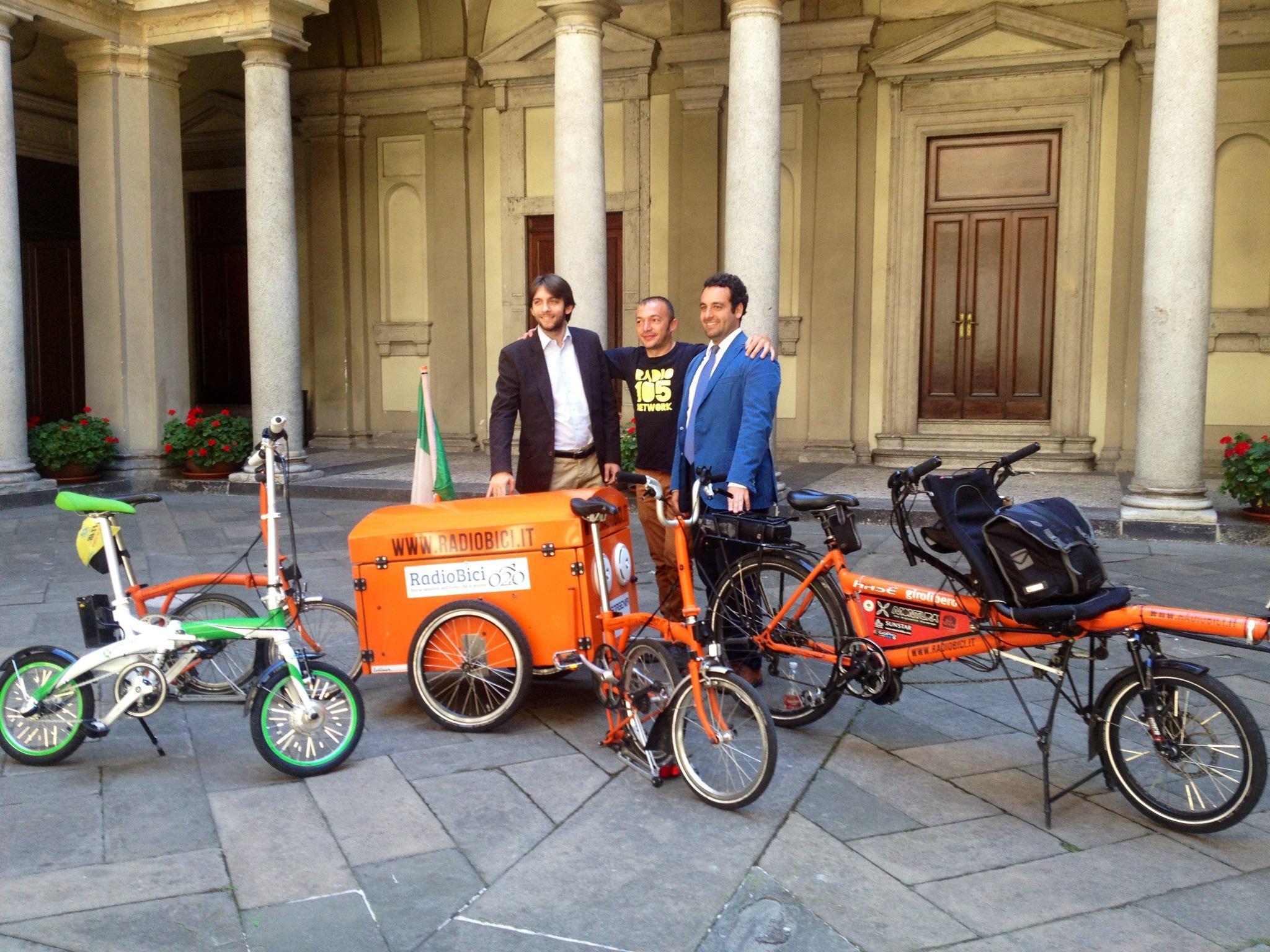 Radiobici conclude il tour 2013 a Milano