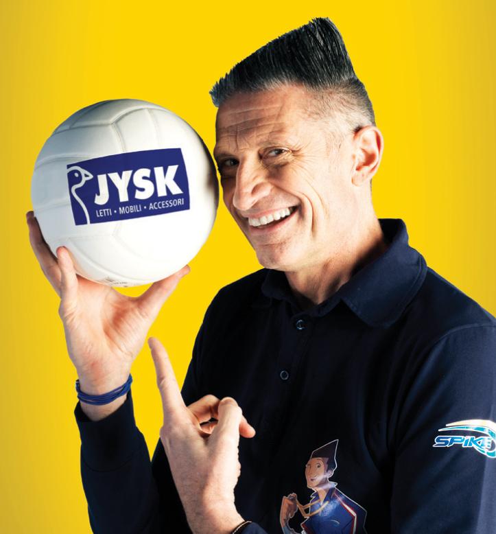 Jysk fa il suo ingresso in TV con Key Adv e Andrea Lucchetta