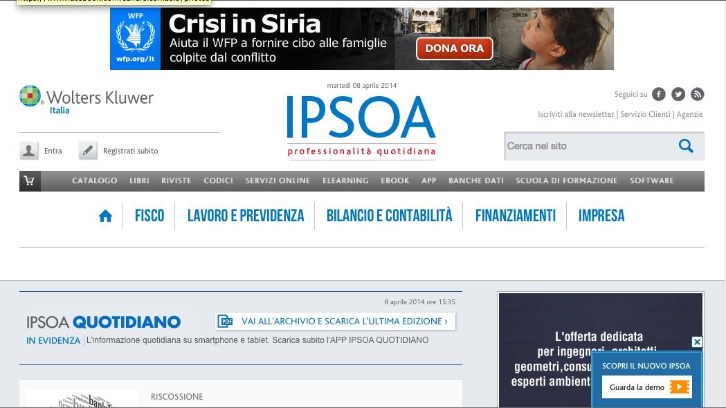 Wolters Kluwer Italia sceglie Key Digital per il lancio della nuova versione del portale IPSOA