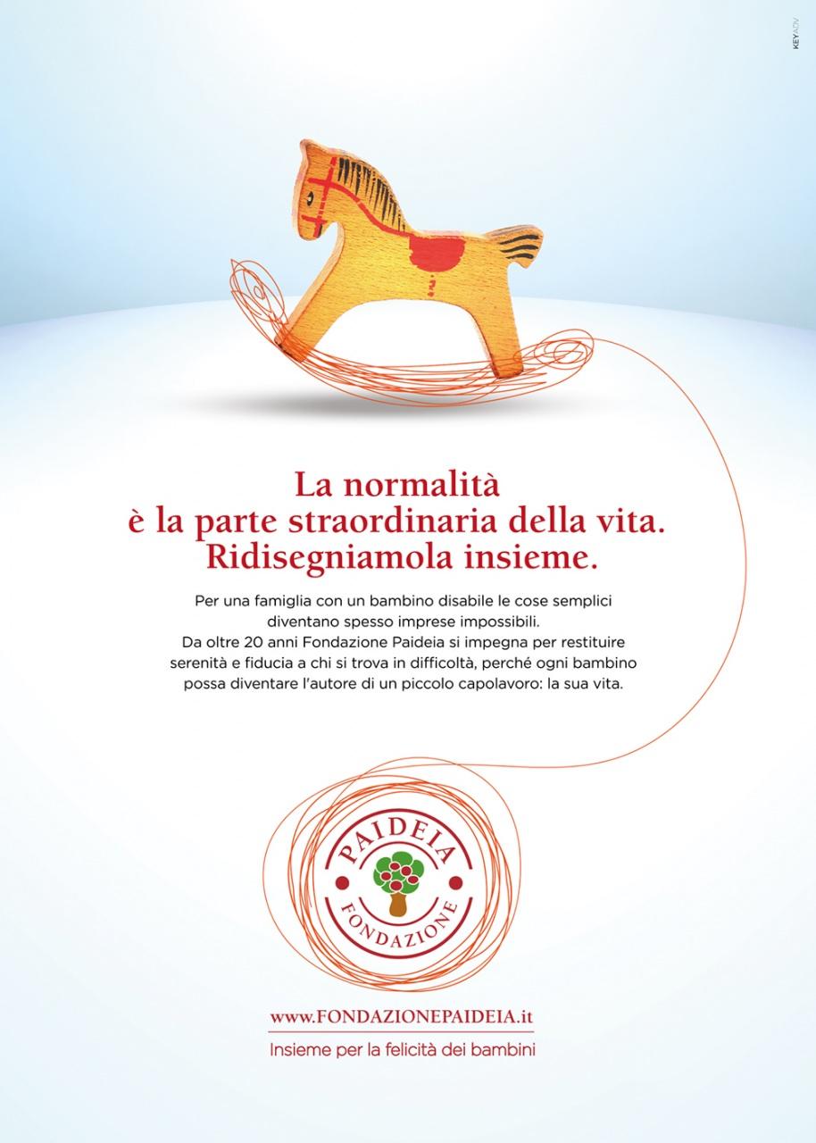 Acqua Group lancia la prima campagna di Fondazione Paideia Onlus