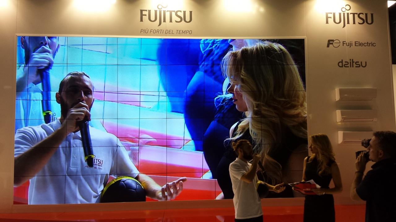 Fujitsu Climatizzatori è più forte del tempo, con Pro&Go a MCE Expocomfort 2016
