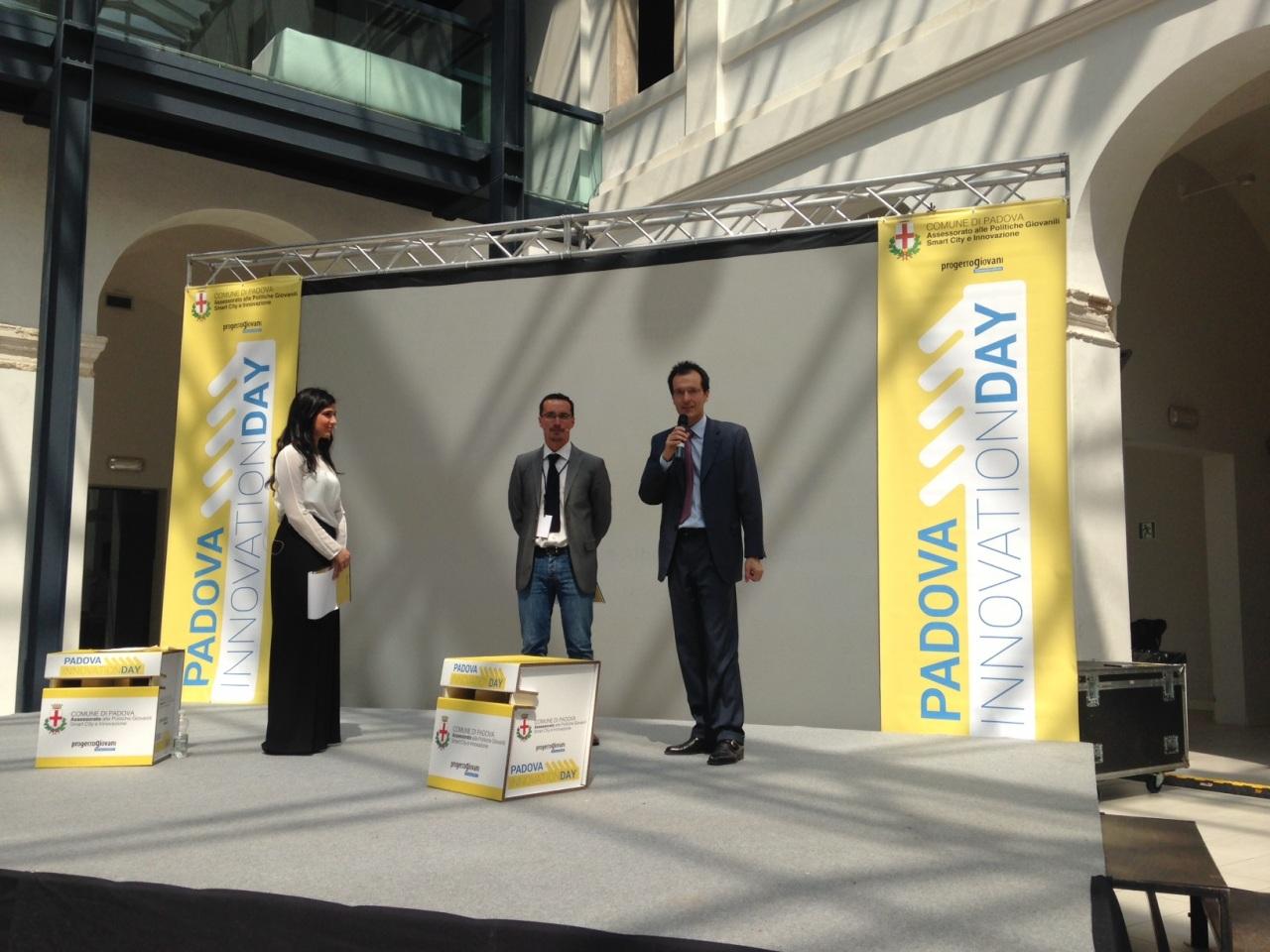 Consegnato il Premio Sorgenia per l'ambiente al Padova Innovation Day