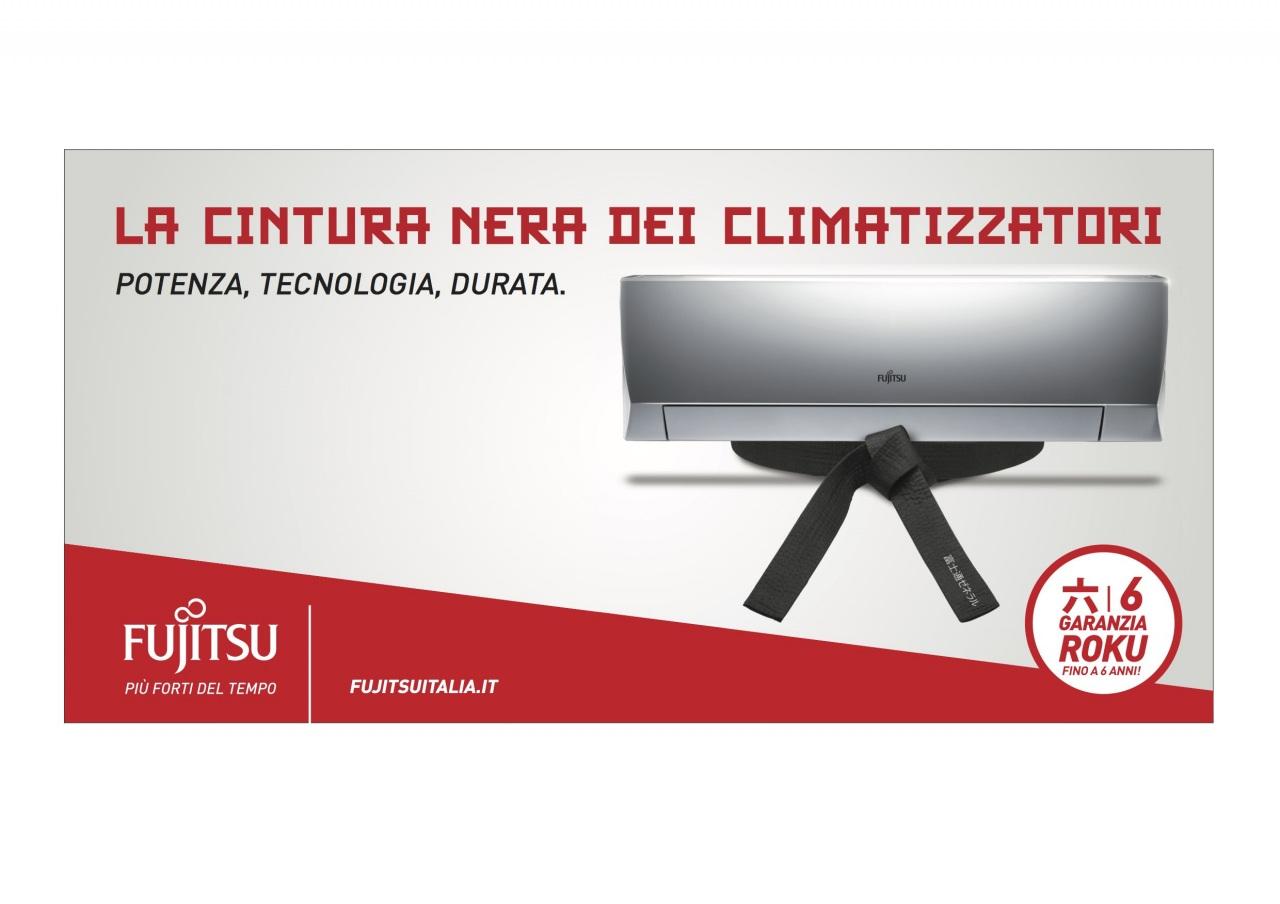Fujitsu: on air la cintura nera dei climatizzatori