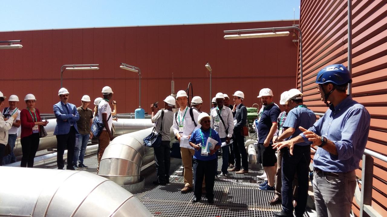 Il mondo dell'energia in visita alla centrale di Sorgenia a Lodi
