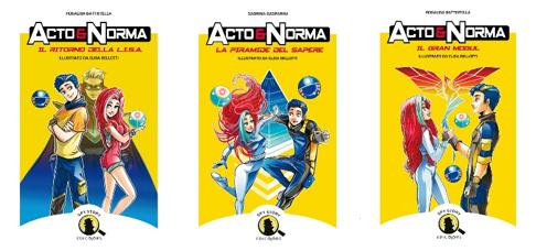 """A scuola di legalità con """"Acto e Norma"""", gli eroi a fumetti per educare i ragazzi"""