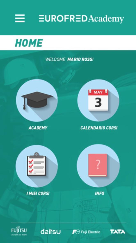 Aggiornamento in tempo reale con la nuova app Eurofred Academy