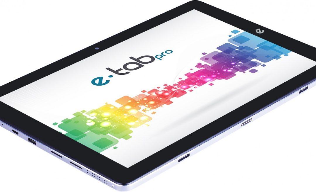 Arriva Microtech e-tab Pro, top di gamma ultrasottile con dual OS