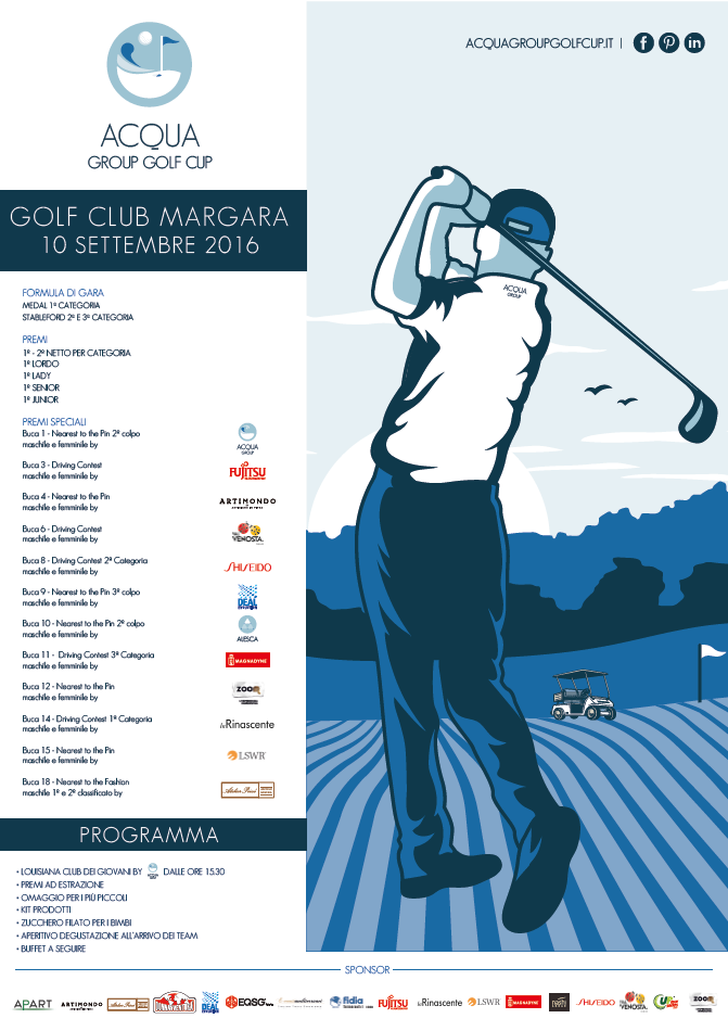 Acqua Group Golf Cup: quando lo sport incontra il business