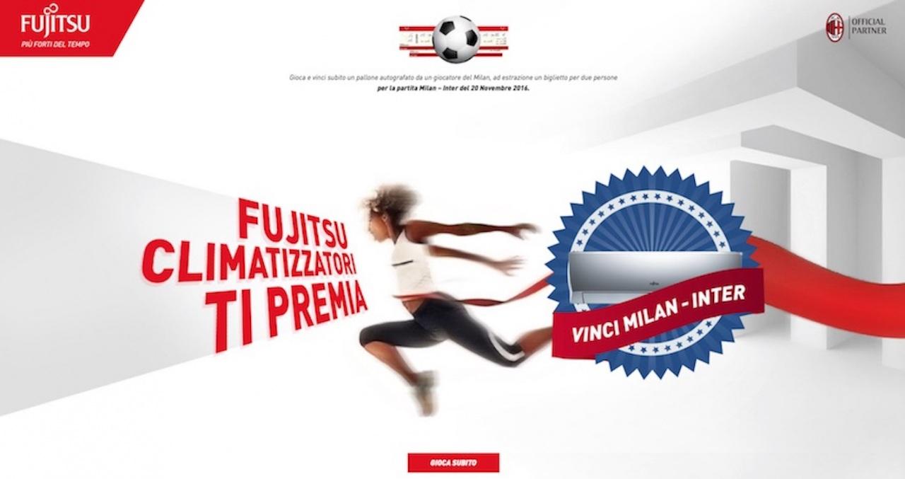 """Prosegue il concorso online """"Fujitsu Clima ti premia"""" per assistere al derby milanese"""