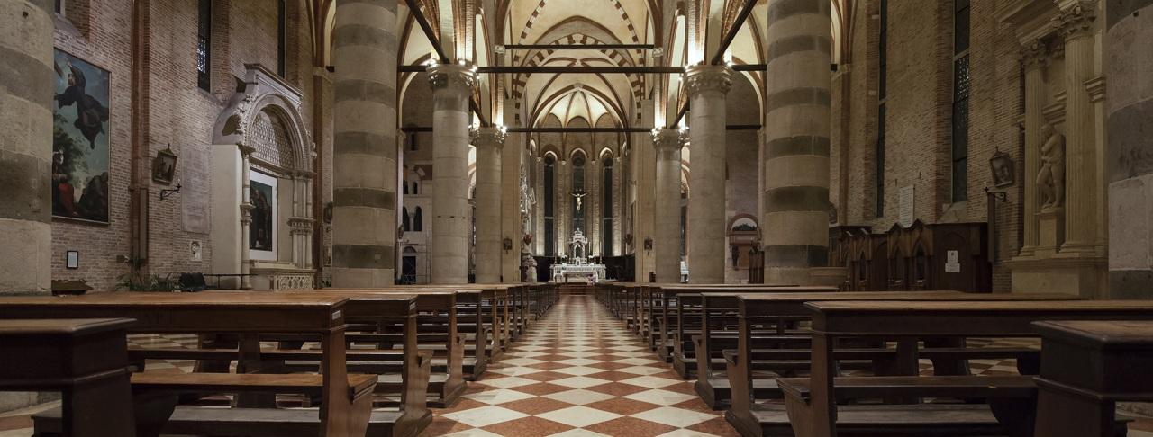 Targetti: nuova luce per la Chiesa Conventuale di San Lorenzo a Vicenza