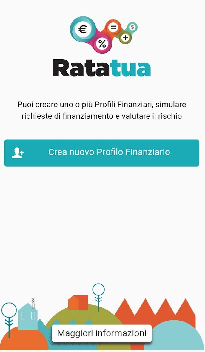 Ratatua: è online l'app per valutare la sostenibilità di spese e prestiti