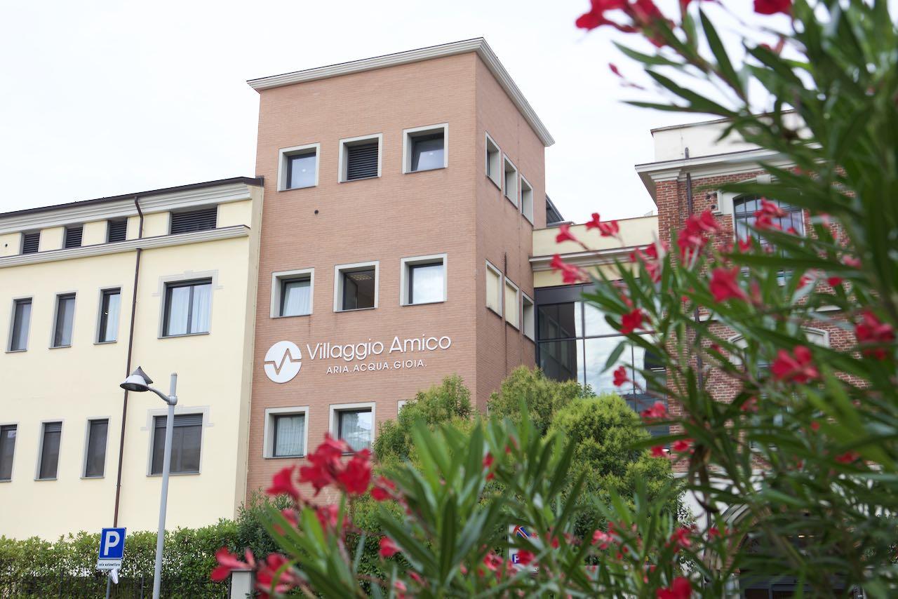 Gli studenti della Scuola Universitaria dell'Ospedale Sacco di Milano a Villaggio Amico per la formazione